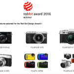 Fujifilm Receives Nine 2016 red dot Product Design Awards