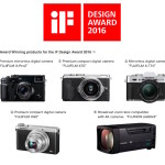 "Fujifilm X-Pro2, X-T10, X70 and XQ2 Win the ""iF Design Award 2016"""