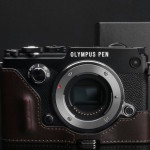 Olympus PEN-F Gariz Leather Camera Cases Announced