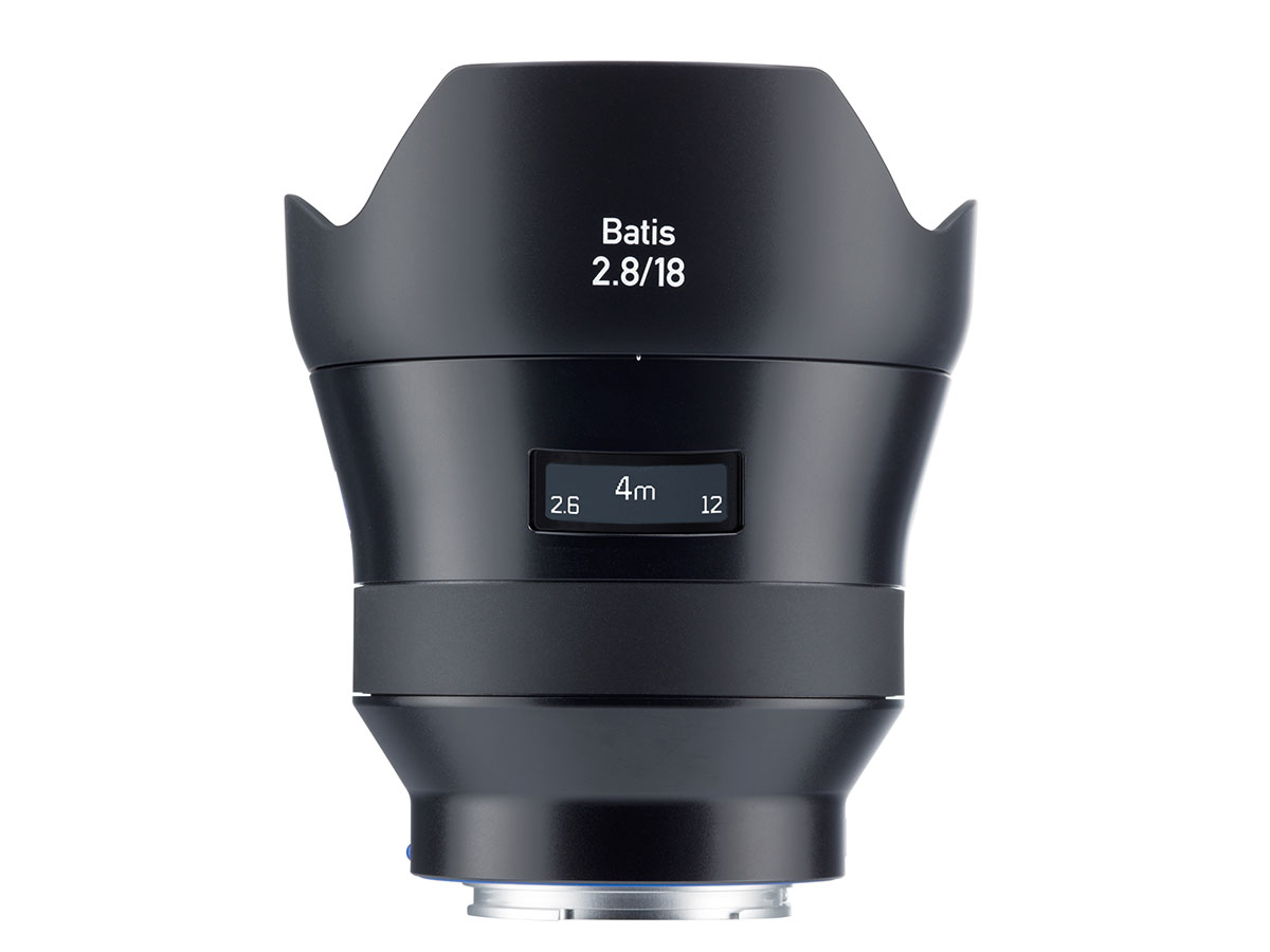 Zeiss Batis 18mm f/2.8 lens to begin shipping this May