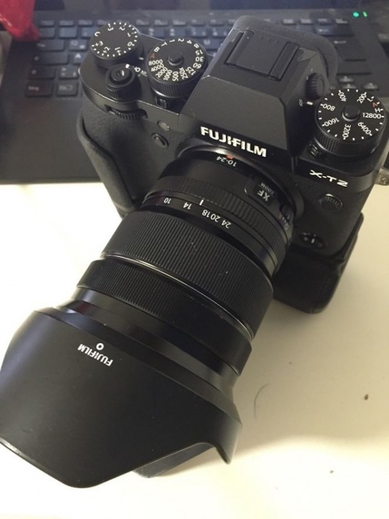 First Fujifilm X-T2 Images Appear Online