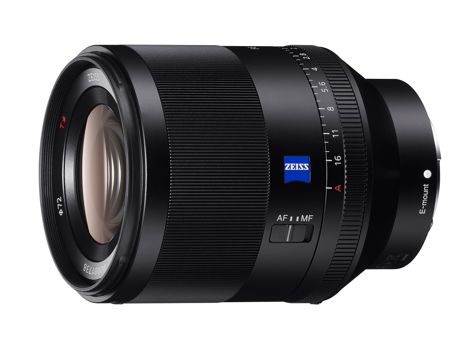 Sony FE 50mm F1.4 ZA prime lens announced