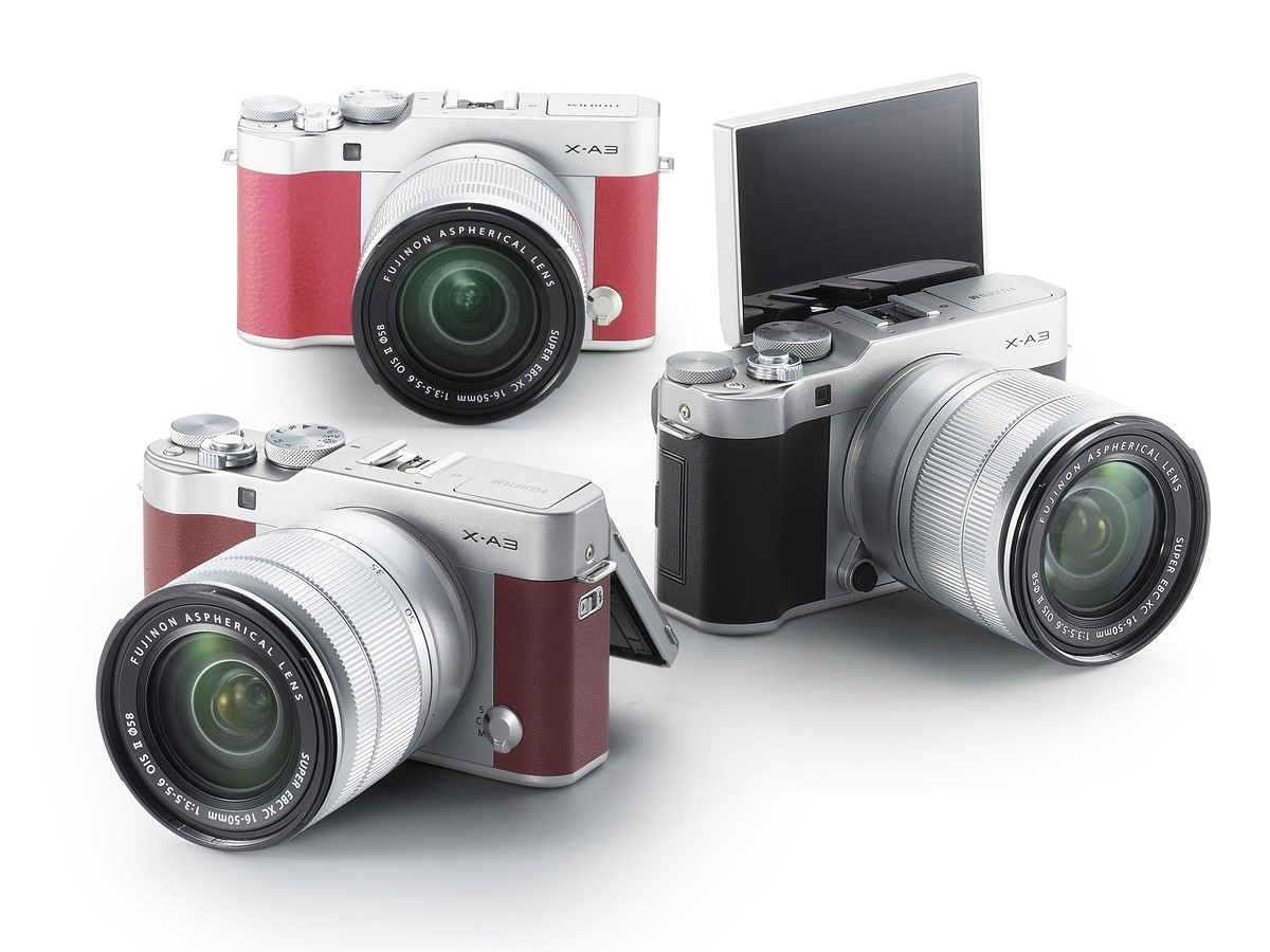 Fujifilm X-A3 camera officially announced with new sensor