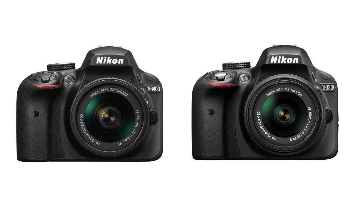 nikon-d3300-vs-d3400