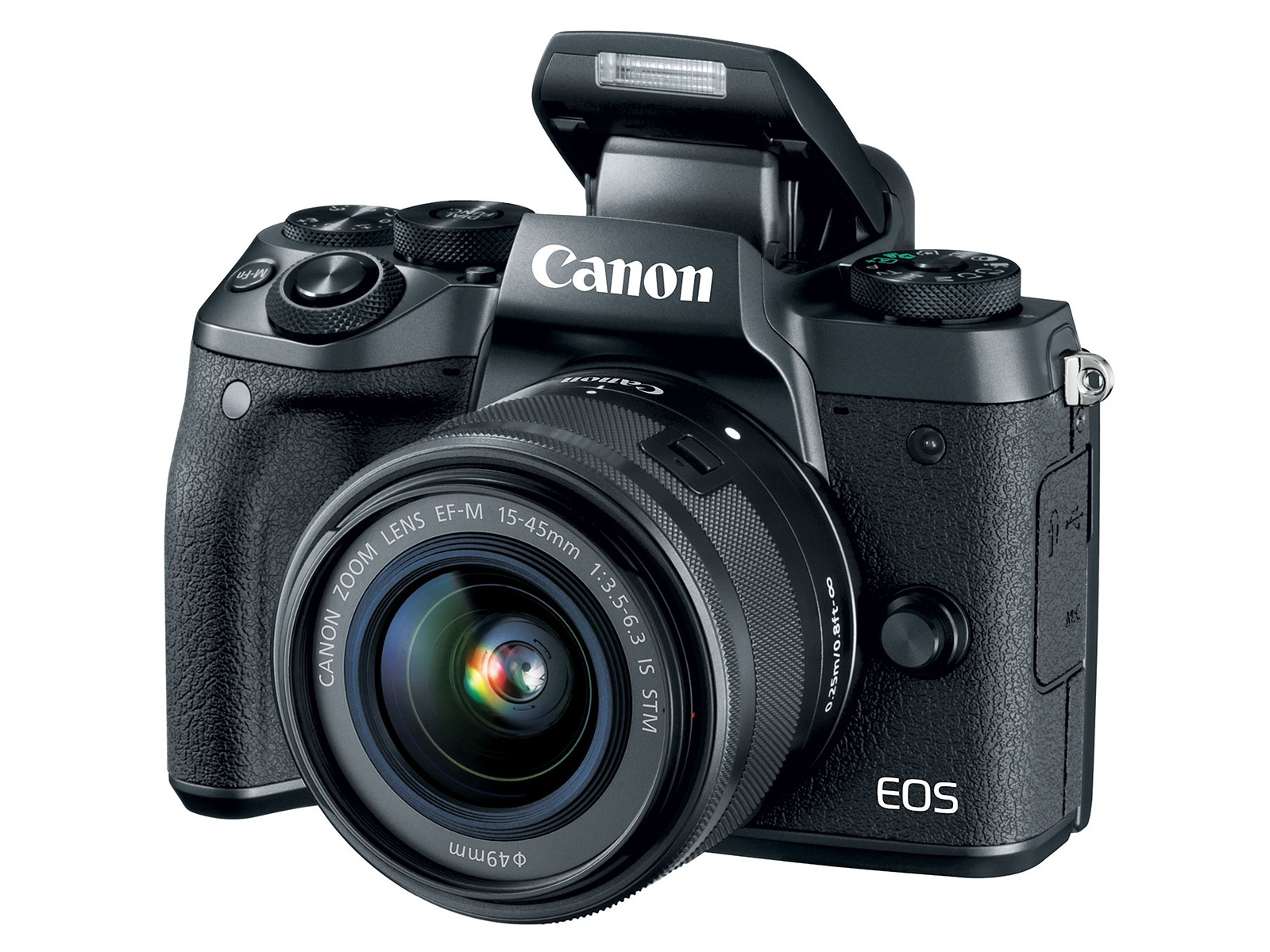 Canon EOS M5 announced with 24MP Dual Pixel AF sensor and built-in EVF