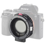 Kipon announces EF-S to E-mount adpater with variable ND filter