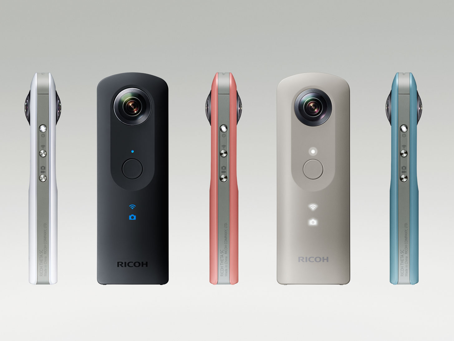 Ricoh Theta SC camera officially annoucned