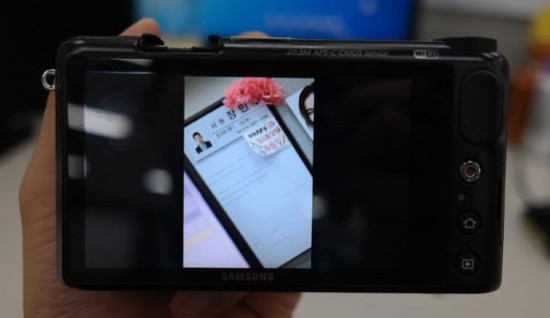 Samsung NX2000 Android camera