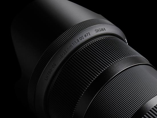 Sigma 18-35mm F1.8 DC HSM lens images