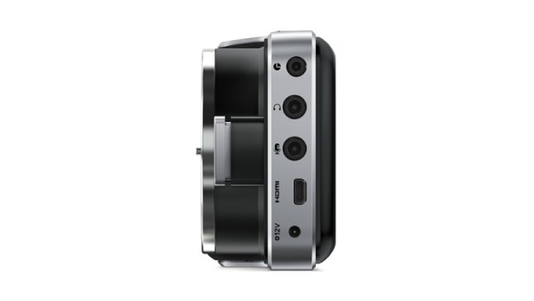 blackmagic pocket cinema camera side