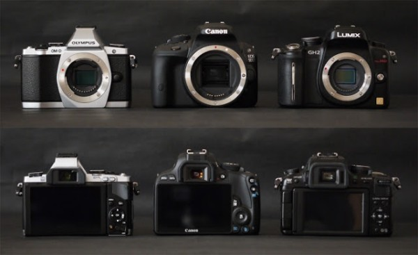 canon eos 100d comparison