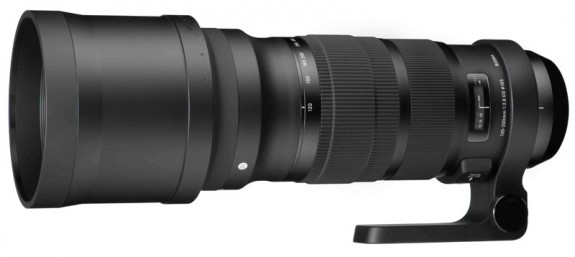 Sigma 120-300 f/2.8 DG OS HSM Lens Shipping