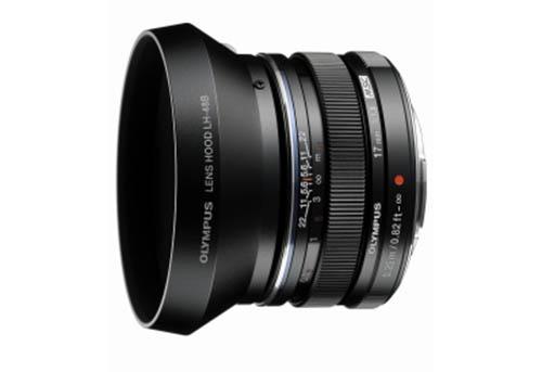 olympus 17mm f/1.8 black