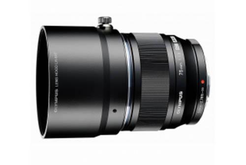 olympus 75mm f/1.8 black