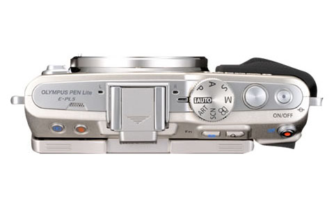 olympus pen lite e-pl6 top