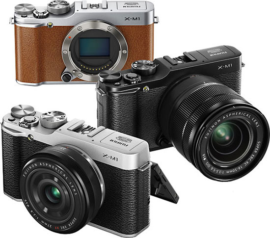 Fujifilm X-M1-mirrorless-compact-camera