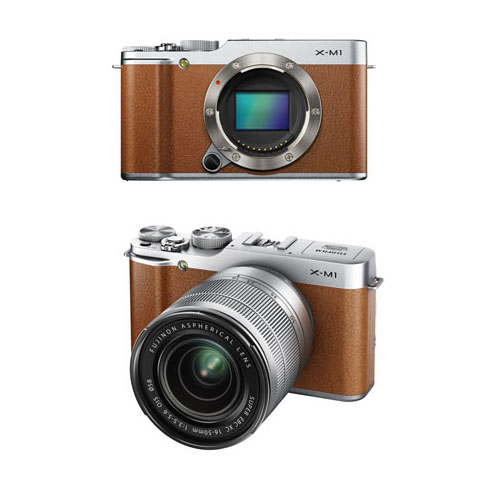 Fujifilm-X-M1-Brown