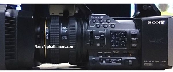 Sony-FDR-AX1-4K-Camcorder