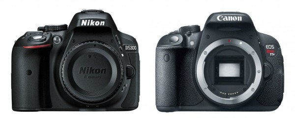 Nikon D5300 vs Canon Rebel T5i