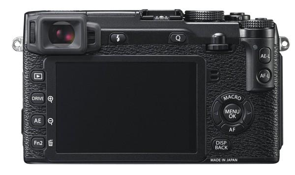 Fujifilm X-E2 back
