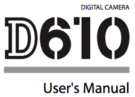 Nikon-D610-users-manual