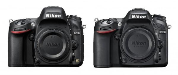 Nikon D610 vs Nikon d7100 comparison