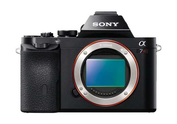 Sony A7r camera-image-front