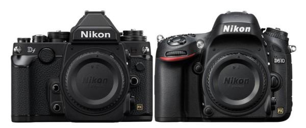 Nikon-Df-vs-Nikon-D610