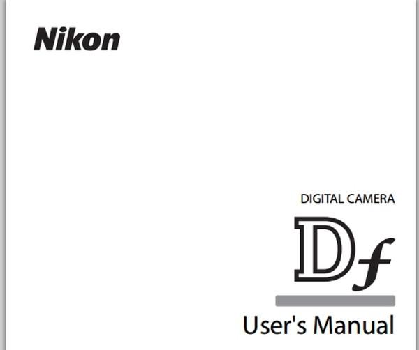 Nikon-Df-Users-Manual