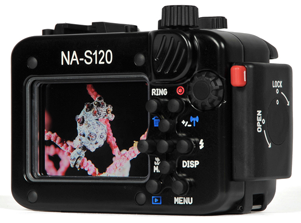 Nauticam Underwater Housing For Canon Powershot S120
