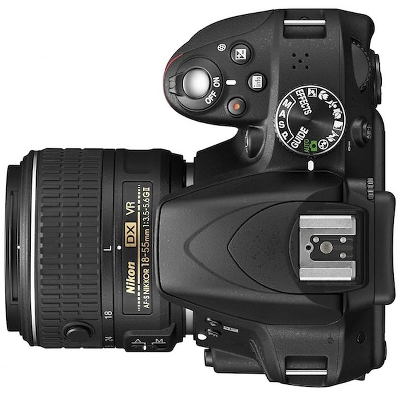 Nikon-D3300-DSLR-camera-top
