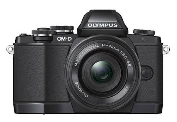 Olympus-OM-D-E-M10-Black-Front