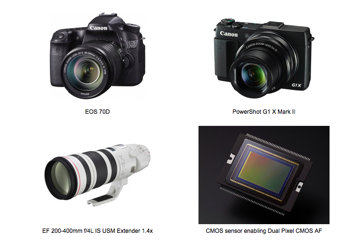 canon-earns-4-tipa-awards-for-eos-70d-powershot-g1-x-mark-ii-ef-200-400mm-1-4x-and-dual-pixel-af