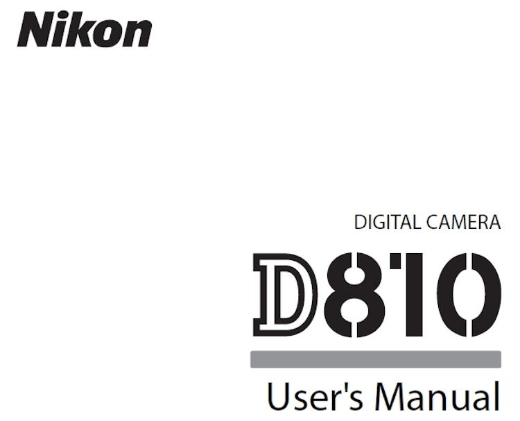 nikon-d810-user-manual