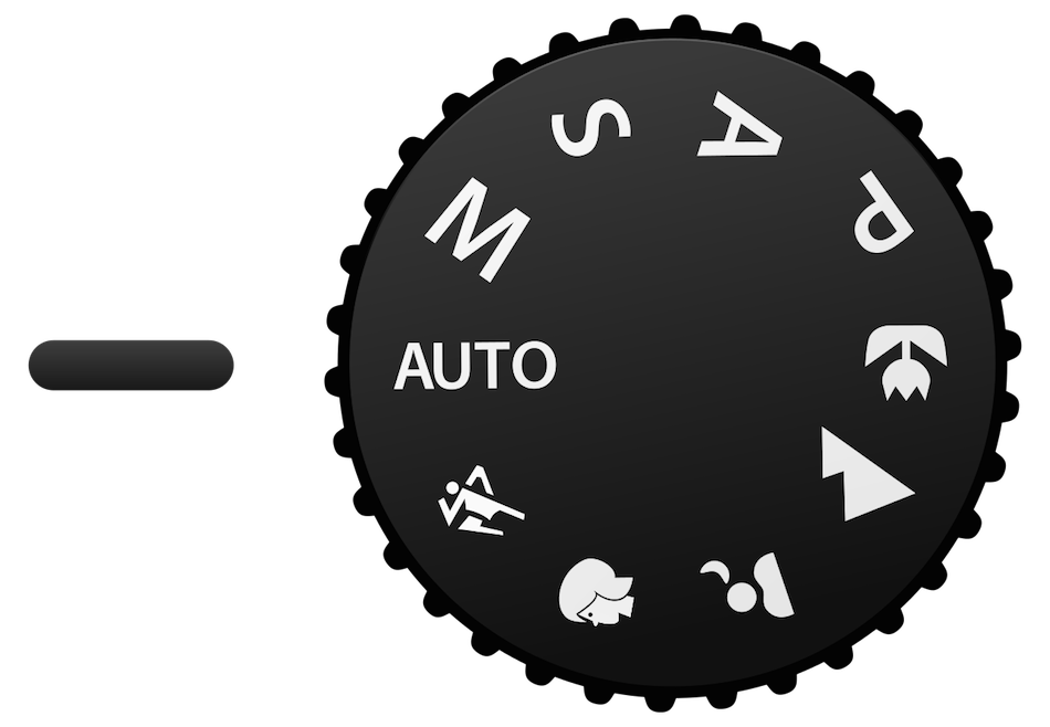 dslr camera shooting modes mode dial