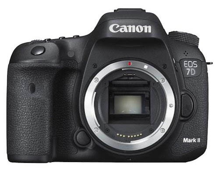 canon eos 7d mark ii more images  front