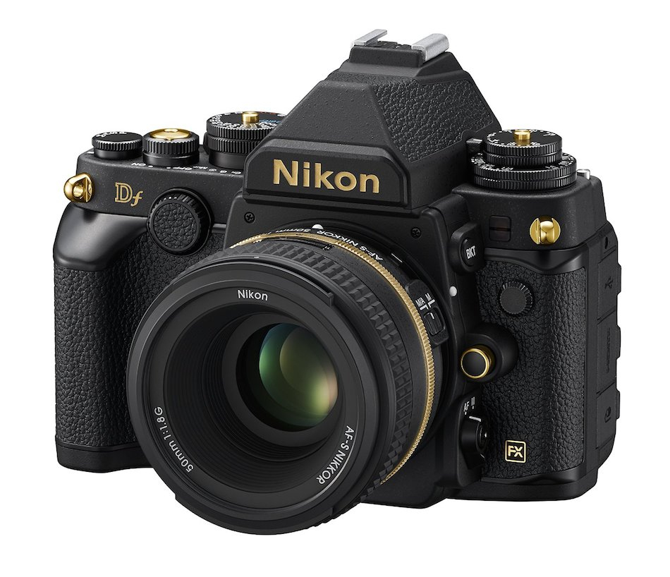 Nikon Df Gold Edition Announced In Japan Daily Camera News
