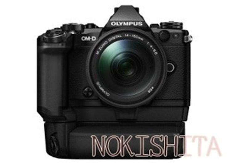 Olympus-E-M5II-camera-HLD-8G+HLD-6P