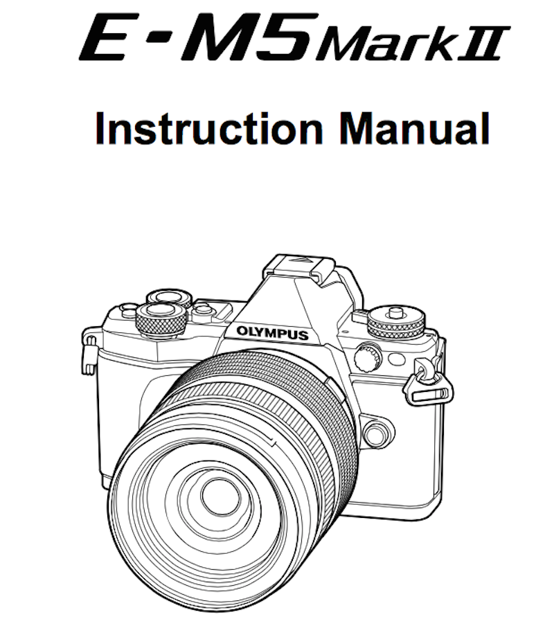olympus-e-m5ii-users-manual