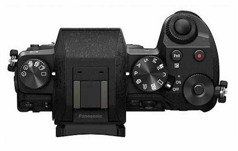 Panasonic-G7-mirrorless-camera-top