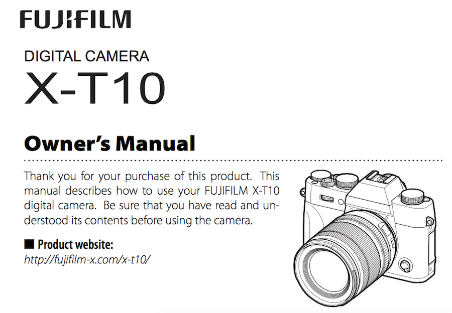 fujifilm-x-t10-users-manual