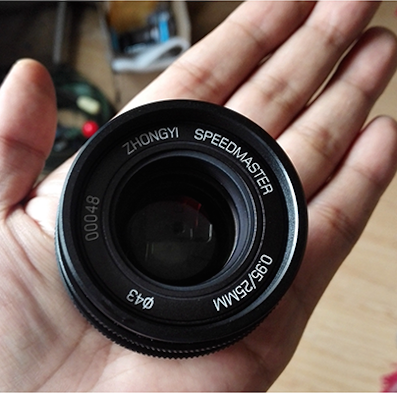 mitakon-25mm-f0-95-pancake-mft-lens-coming-soon