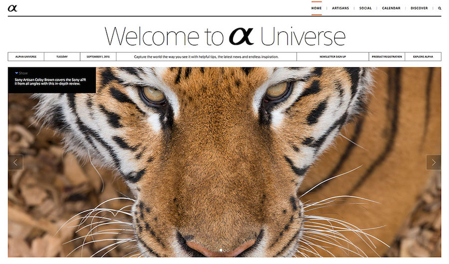 sony-launches-alpha-universe-community-site