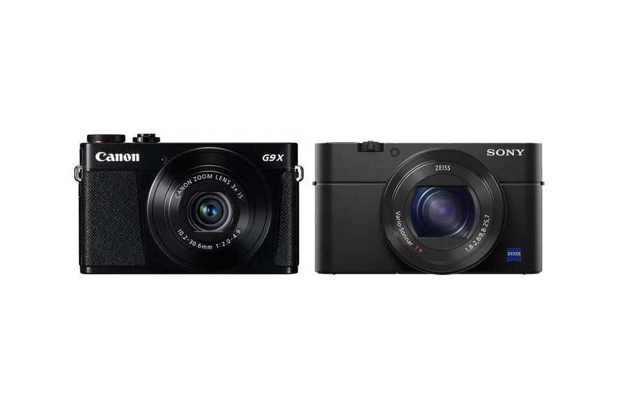 Canon G9 X vs Sony RX100 IV Comparison