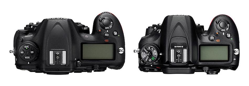 Nikon-D500-vs-D7200-Top