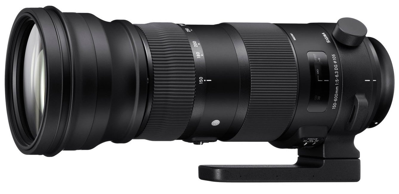 This is the current Sigma 150-600mm F5-6.3 DG OS HSM Sports Lens