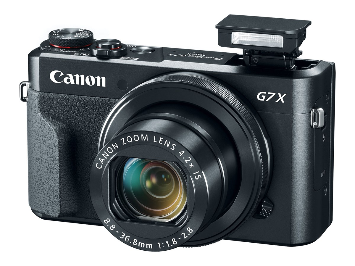 Canon PowerShot G7 X Mark II Compact Camera Announced