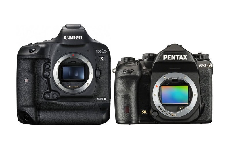 Canon 1DX Mark II vs Pentax K-1 Comparison