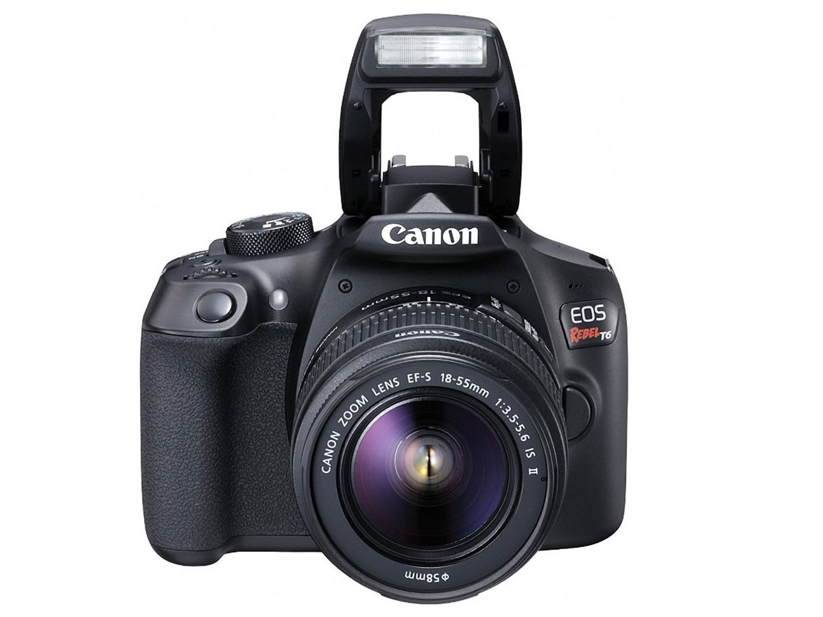 Canon EOS Rebel T6 DSLR Camera 01