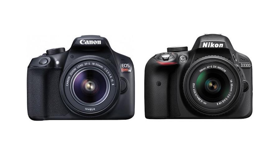Canon Rebel T6 vs Nikon D3300 Comparison